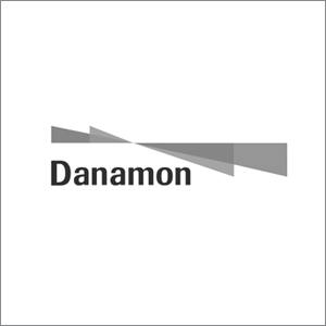 logo danamon bw